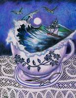 Night Sea Cup