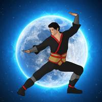 Martial Artist Digital Art