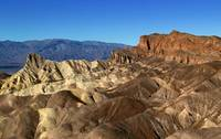 Zabriske Point at Death Valley