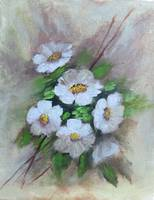 Floral Daisies Painting