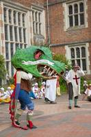 George and the Dragon, Tudor play