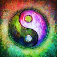 Yin Yang - Colorful Painting I