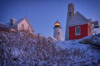 Winter at Pemaquid Point