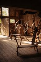 Tudor spinning wheels