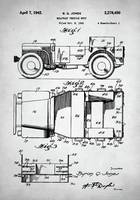 Military Vehicle Patent