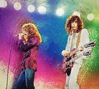 Jimmy Page - Robert Plant