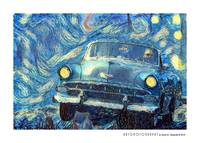 1954 Chevy on a Starry Night