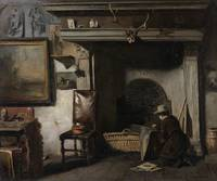 Anton Mauve The studio of the Haarlem painter Piet