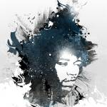 """Jimi Hendrix"" by jimbotron"