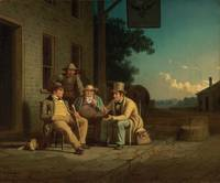 Canvassing for a Vote, 1852 - George Caleb Bingham