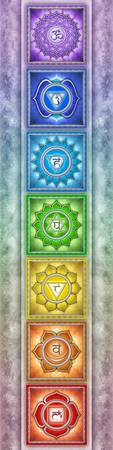 The Seven Chakras - Series II Artwork IV