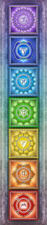 The Seven Chakras - Series II Artwork V
