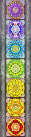 The Seven Chakras - Series III Artwork II.II.II