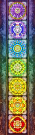 The Seven Chakras - Series 3 Artwork 2.1.2