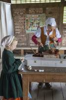 Tudor family at work