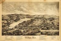 Aerial View of Wilton, Maine (1895)