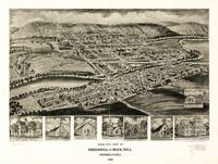 Bird's Eye View of Orbisonia & Rock Hill, Pennsylv