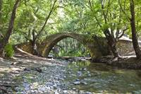 Kelefos Venetian Medieval bridge at Cyprus