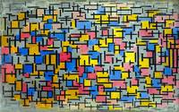 Piet Mondrian Composition
