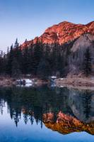 Alpenglow Reflections