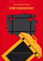 No917 My Dom Hemingway minimal movie poster