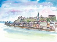 Burghausen_Bavaria_with_Castle_And_Old_Town