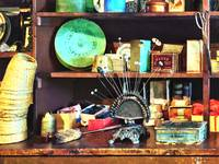 Sewing Supplies in General Store