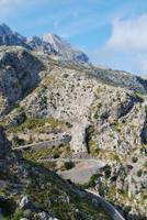Road to Sa Calobra on Majorca