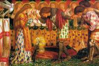 Dante Gabriel Rossetti how sir galahad bors and pe