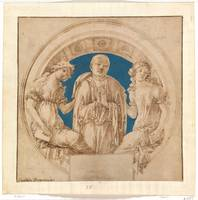 Design for a Wall Monument, Francesco di Giorgio M