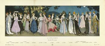 Fashion Poster 1900-1920s Series - 16