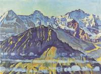 Ferdinand Hodler - Eiger, Monch and Jungfrau in th