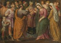 Giuseppe Porta Salviati The Marriage Of Joseph And