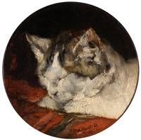 Head of sleeping Cat DOMINGO MARQUÉS, FRANCISCO