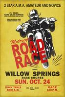Willow Springs Motorcycle Road Race