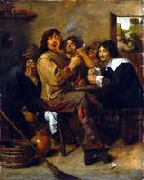 Adriaen Brouwer The Smokers