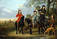 Aelbert Cuyp Starting for the Hunt