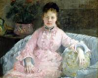 Berthe Morisot The Pink Dress