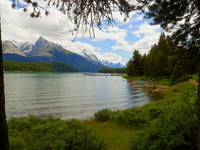 Photography Art Maligne Lake Jasper Alberta Canada