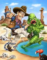 John Wayne vs The Creature