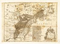 Map of North America by Thomas Phin (1755)