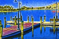 The Dock In Fauvism