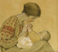 Jessie Willcox Smith 1863 - 1935 THE NEWBORN (REAL