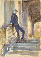 John Singer Sargent , Sir Neville Wilkenson on the