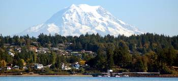 Mt. Rainier over Steilacoom