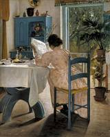 Laurits Andersen Ring, at the breakfast table