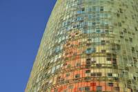 Torre Agbar Abstract