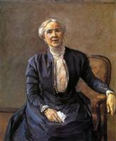 Max Liebermann portrait of adele wolde