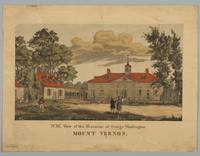 N.W. View of the Mansion of George Washington Moun