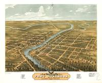 Bird's Eye View of Fort Atkinson, Wisconsin (1870)
